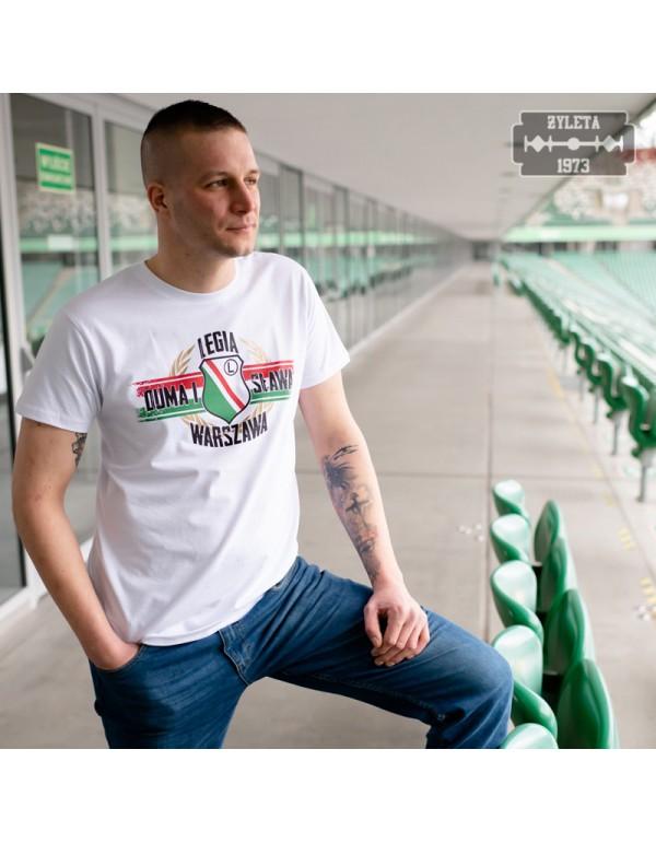 "Koszulka ""Legia Warszawa Duma i Sława"" męska"